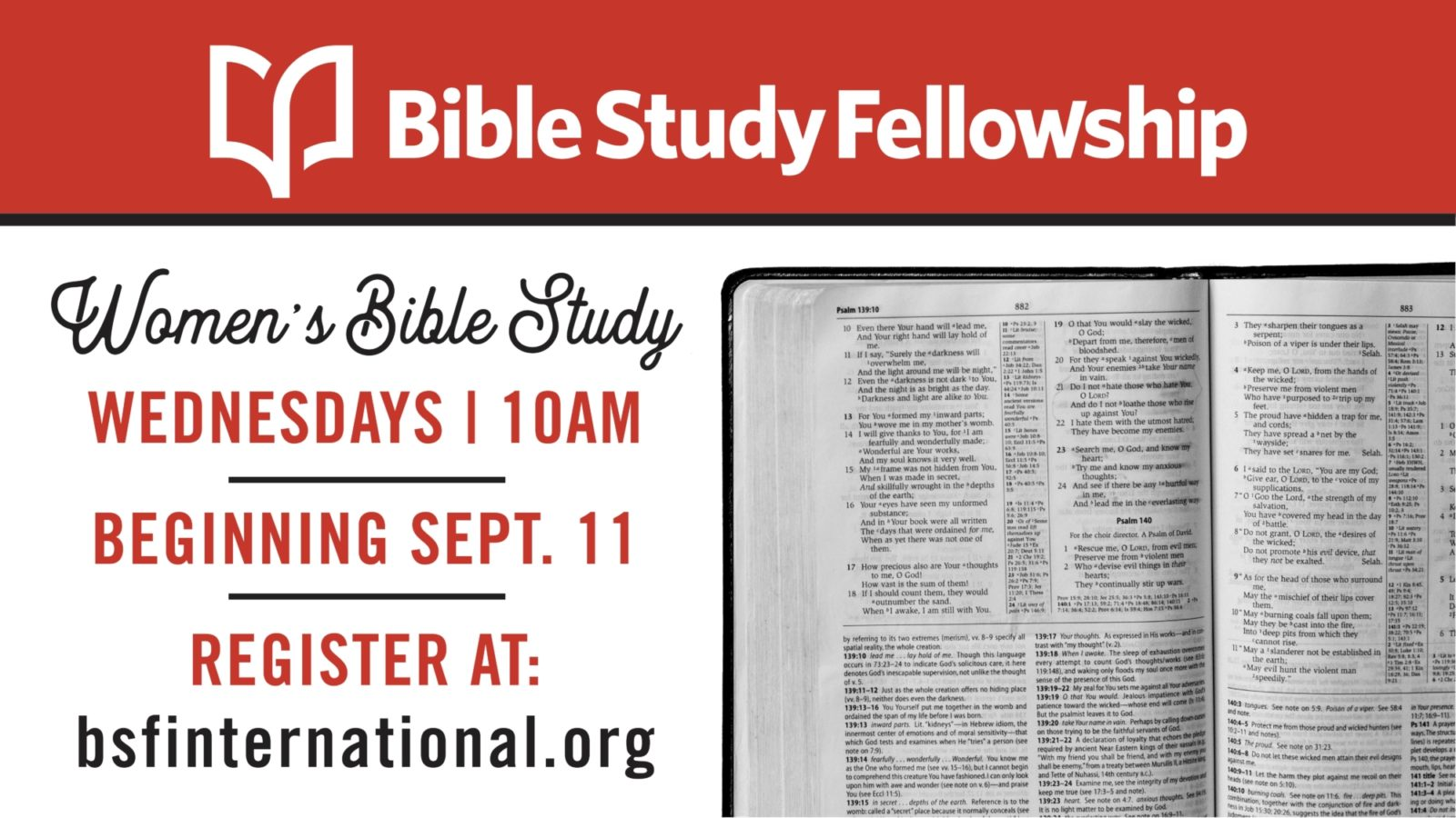 Women's Bible Study Fellowship (BSF)