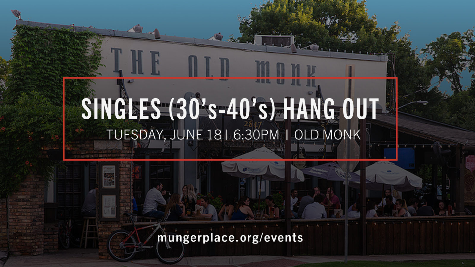 Singles (30's-40's) Hang Out