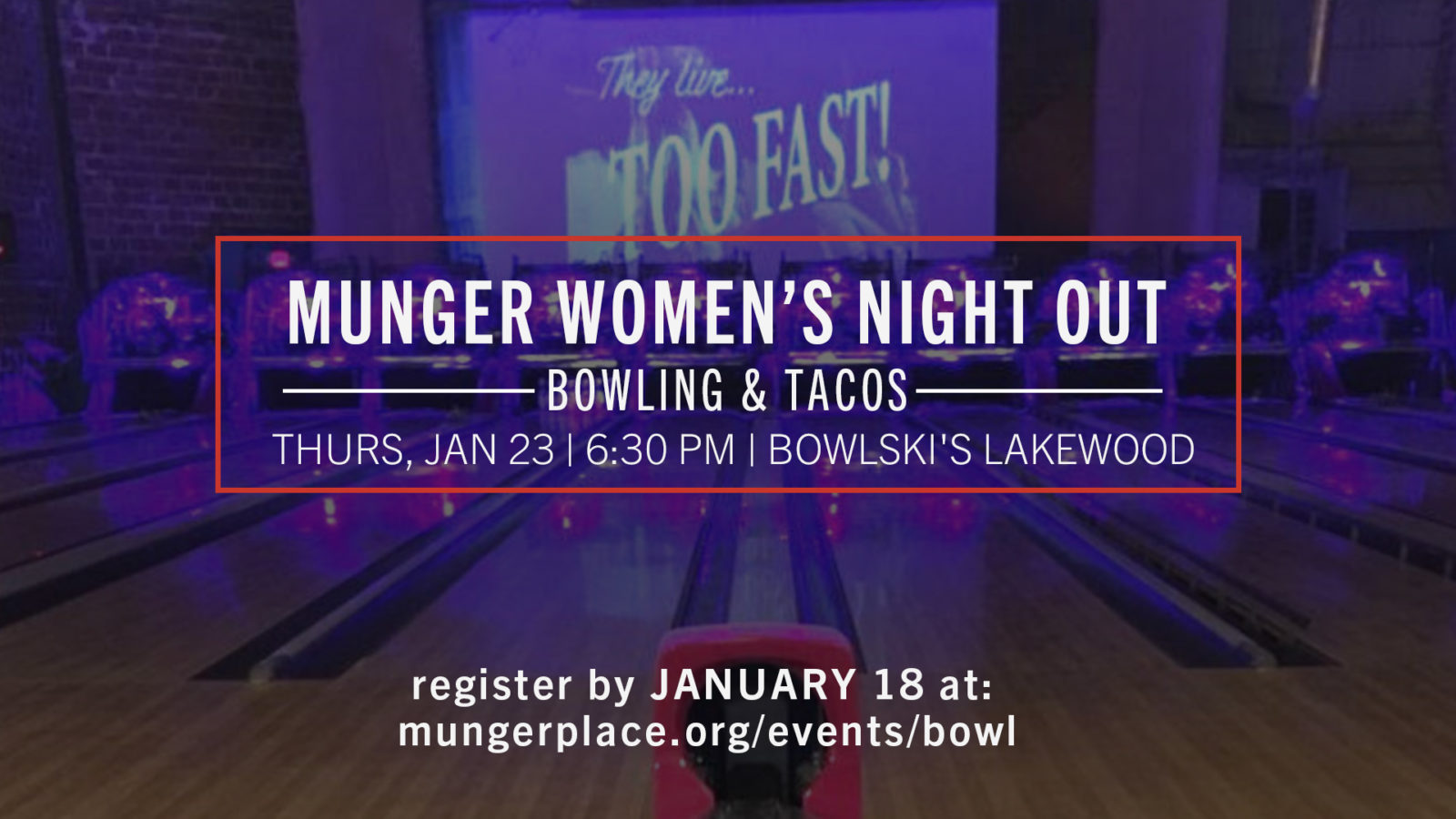 Women's Night Out: Bowling & Tacos