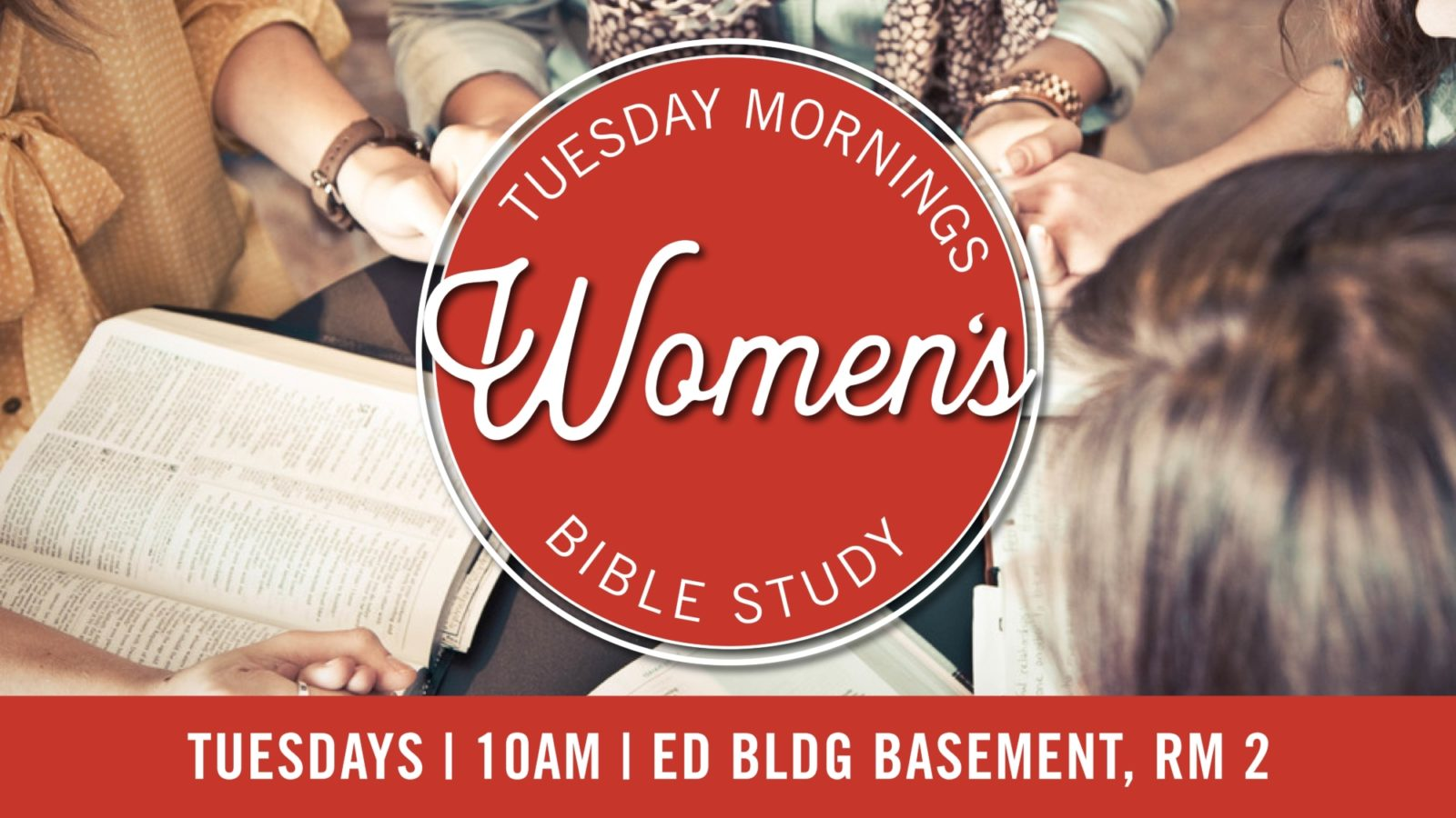 Tuesday Morning Women's Bible Study