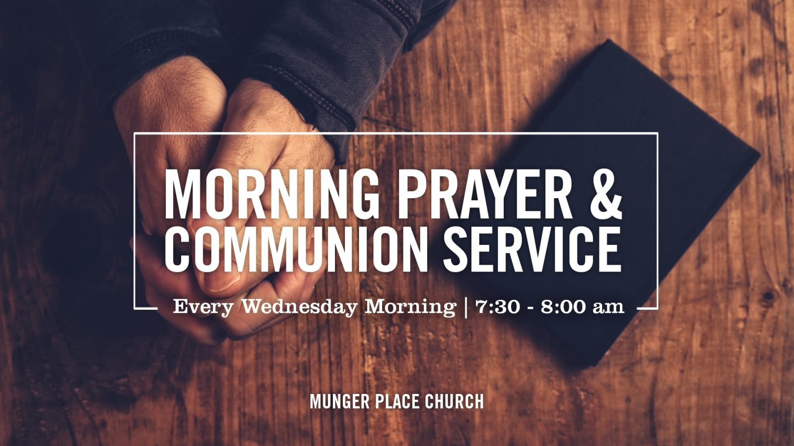 Morning Prayer and Communion
