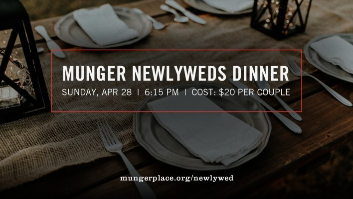 Munger Newlywed Dinner