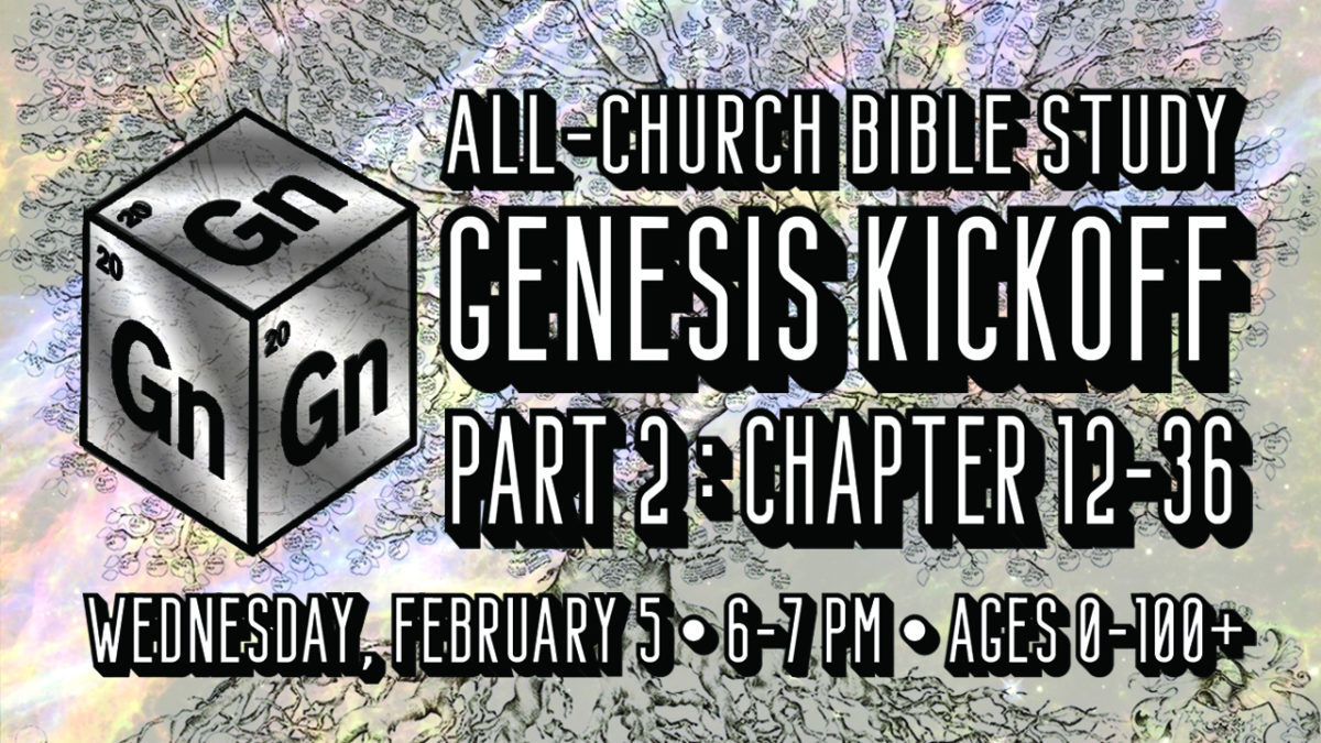 Slide Genesis2 A Kick Off